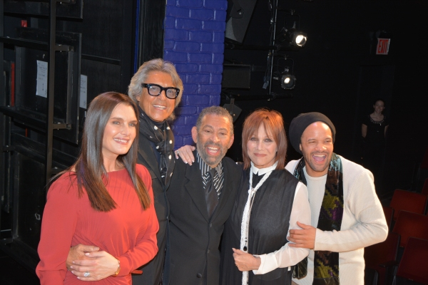 Brooke Shields, Tommy Tune, Maurice Hines, Michele Lee and Savion Glover