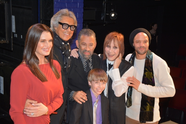 Brooke Shields, Tommy Tune, Maurice Hines, Luke Spring, Michele Lee and Savion Glover
