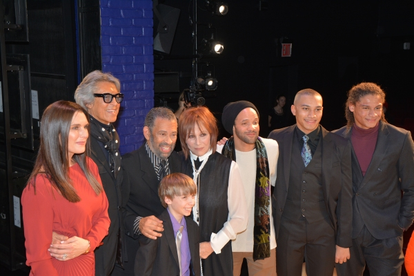 Brooke Shields, Tommy Tune, Maurice Hines, Luke Spring, Michele Lee, Savion Glover, John Manzari and Leo Manzari