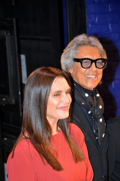 Brooke Shields and Tommy Tune