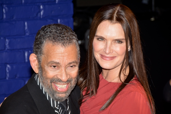 Maurice Hines and Brooke Shields