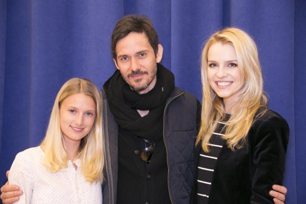 Lilly Englert, Christian Camargo and Gia Crovatin