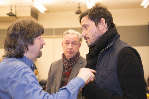 Trevor Nunn, James Lynes and Christian Camargo