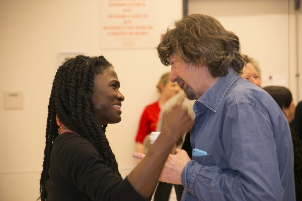 Patrice Johnson Chevannes and Trevor Nunn