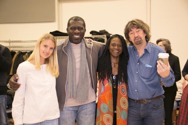 Lilly Englert, Ka Adjepong, Patrice Johnson Chevannes and Trevor Nunn