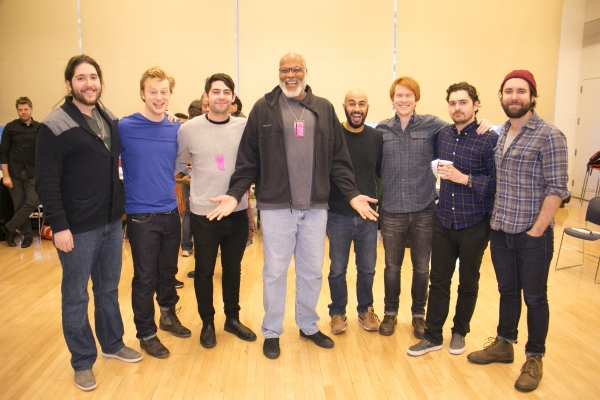 Photo Flash: In Rehearsal with Trevor Nunn, Christian Camargo and More for Theatre for a New Audience's PERICLES
