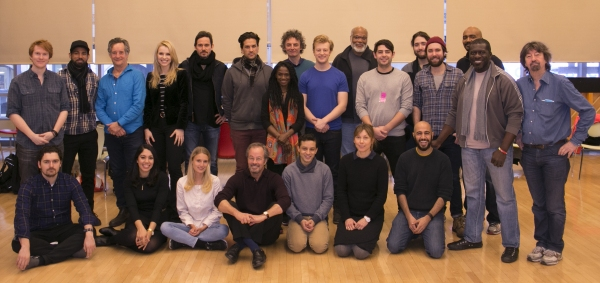 Trevor Nunn and the cast of PERICLES