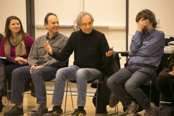 Illana Stein, Jonathan Kalb, Jeffrey Horowitz and Trevor Nunn