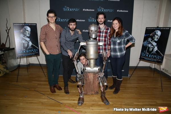 FREEZE FRAME: Meet the Cast of Off-Broadway's THE WOODSMAN