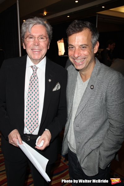 Brian Bedford & Joe Mantello attending the 65th Annual Tony Awards Meet The Nominees Press Reception at the Millennium Hotel in New York City on 3/5/2011