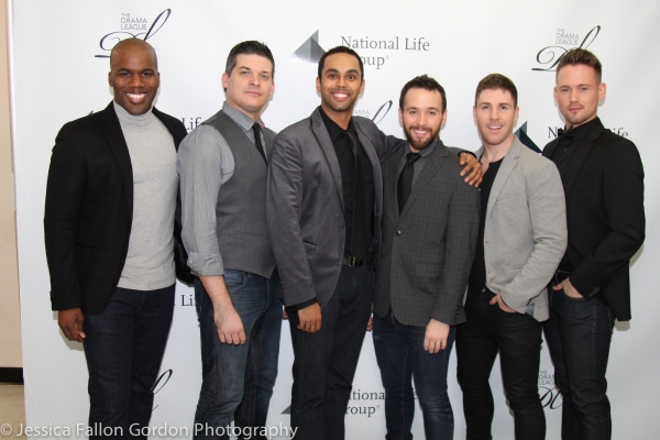 The Broadway Boys: Jamarice Daughtry, Mike Backes, Jesse Nager, Gabe Violett, Jesse Johnson and Stephen Michael Kane