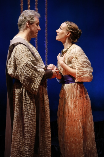 Paul O''Brien as Creon and Winsome Brown as Eurydice