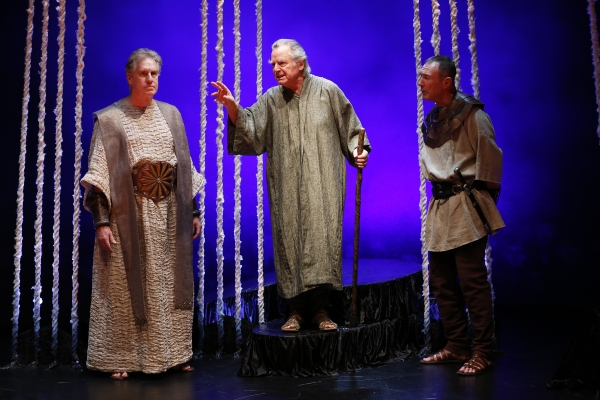 Paul O''Brien as Creon, Robert Langdon Lloyd as Tiresias, and Colin Lane as the Guard