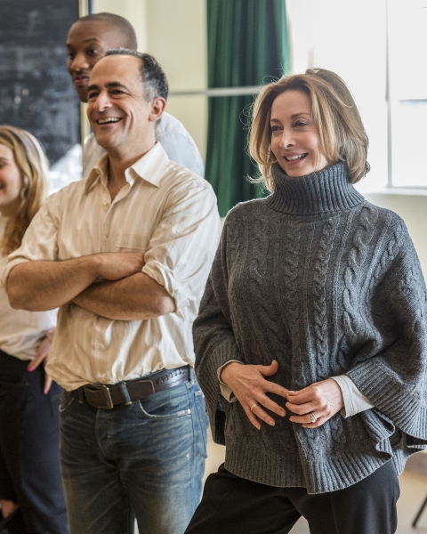 Photo Flash: Sneak Peek at Sharon Lawrence, Mae Whitman and More in Rehearsal for THE MYSTERY OF LOVE & SEX at the Taper