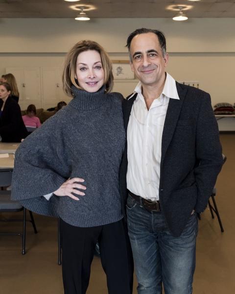Sharon Lawrence and David Pittu