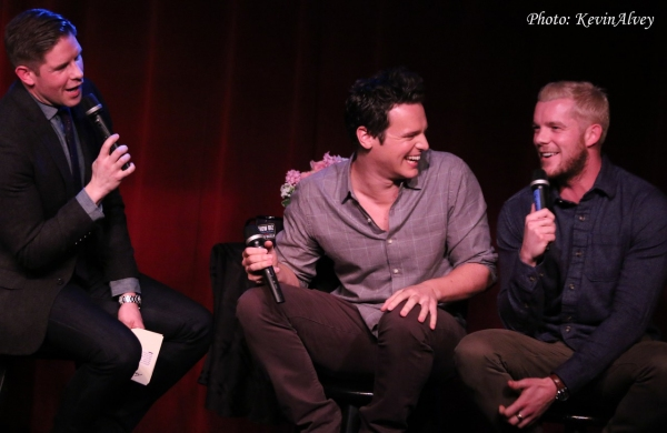 Frank DiLella, Jonathan Groff and Russell Tovey