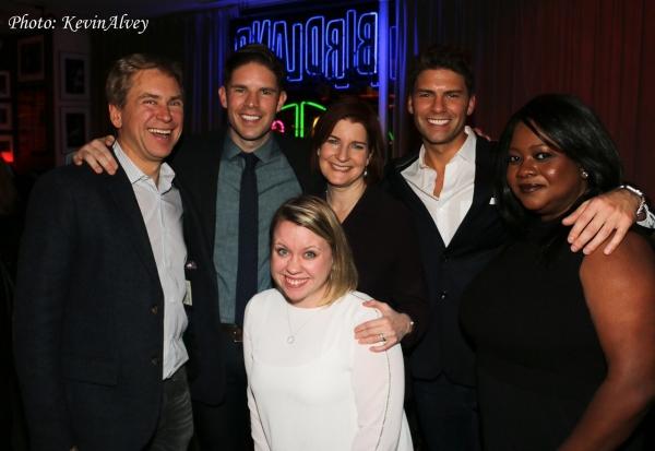 Pat Kiernan, Frank DiLella, Roma Torre, Christopher DiLella, Ruschell Boone and Lisa  Photo