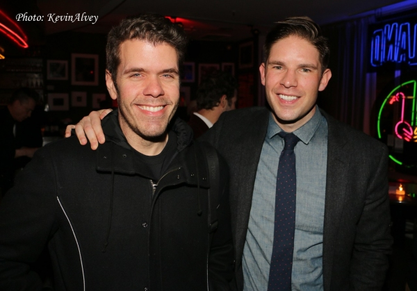Perez Hilton and Frank DiLella