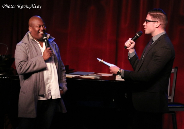 Tituss Burgess and Frank DiLella