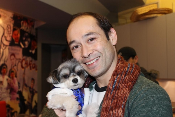 Photo Flash: Tinkerbelle the Dog Visits Hoon Lee and More at THE KING AND I