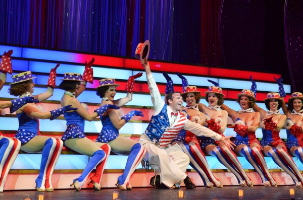 The musical extravaganza THE WILL ROGERS FOLLIES features a