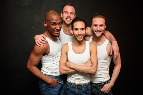 Donterrio Johnson, Luke Meierdiercks, Scott Gryder and Chris Logan Photo