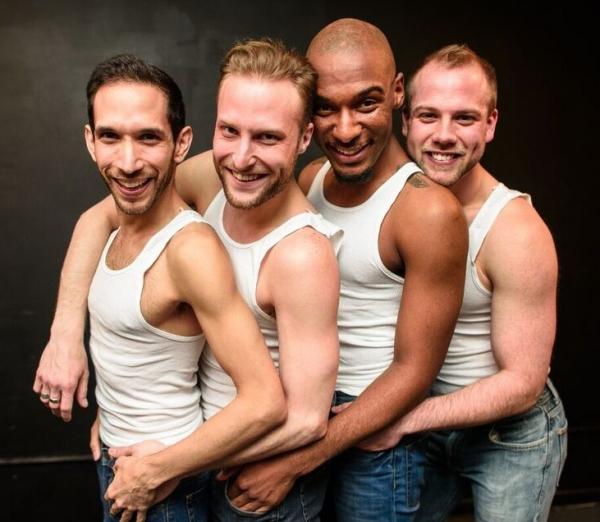 Scott Gryder, Chris Logan, Donterrio Johnson and Luke Meierdiercks Photo