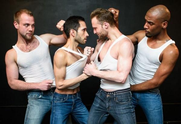 Luke Meierdiercks, Scott Gryder, Chris Logan and Donterrio Johnson Photo