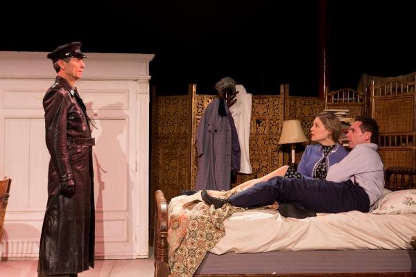 Robin Haynes as Vladimir, Erin Biernard as Yelena and Brian J. Carter as Mikhail Photo