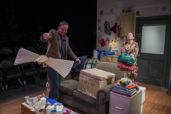 Photo Flash: First Look at Shattered Globe's ANIMALS OUT OF PAPER at Theater Wit