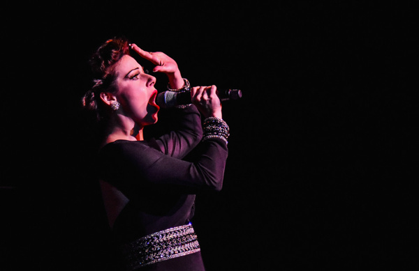 I Gotta Right To Sing The Blues: A Salute to Ella, Judy, and Patsy. Angela Ingersoll sings Judy Garland.