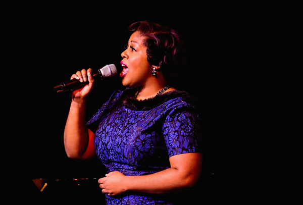 I Gotta Right To Sing The Blues: A Salute to Ella, Judy, and Patsy. Karen Marie Richardson sings Ella Fitzgerald.
