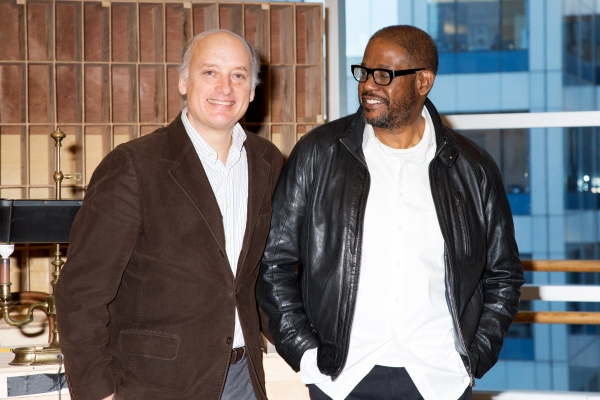 Photo Coverage: Inside the First Day of Rehearsal for HUGHIE, with Forest Whitaker!