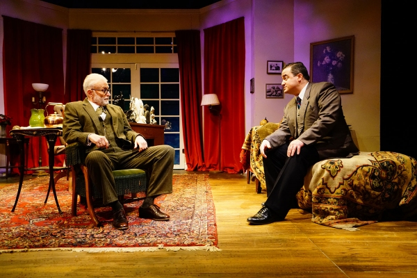 Photo Flash: First Look at FREUD'S LAST SESSION at Road Less Traveled Productions