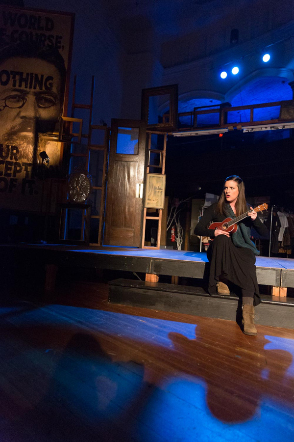 Photo Flash: First Look at STUPID F-ING BIRD at The Wilbury Group