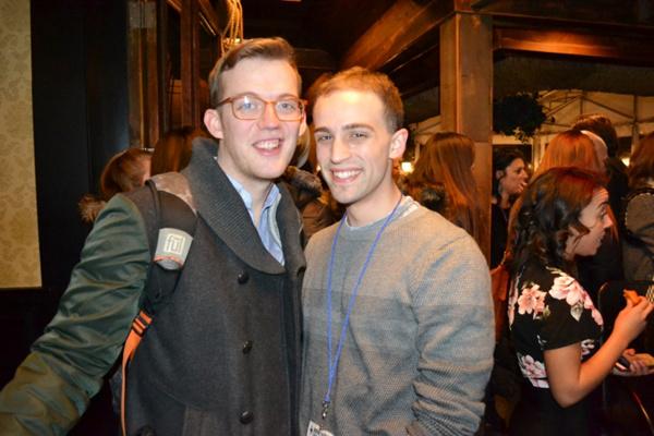 Brian Graziani (actor, WE HAVE APPLES), and Matt ZanFagna (, HOUDIN)