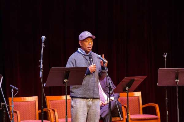 Hip-hop pioneer Russell Simmons (of Def Jam Recordings), as Chairman of The Foundation for Ethnic Understanding, speaks on the importance of cross-cultural programming to foster understanding and change. Photo by Victor Nechay (properpix.com)