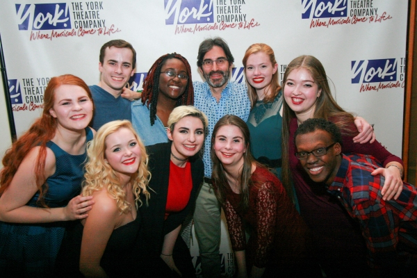 York''s Associate Artistic Director and Director of Education, Michael Unger (center) with the 2016 College Winter Intensive Students (clockwise, left to right): Katherine Wolff, Andrew Clark, Samantha Richards, Rachel Rival, Arielle Firestone, Joshua Jam