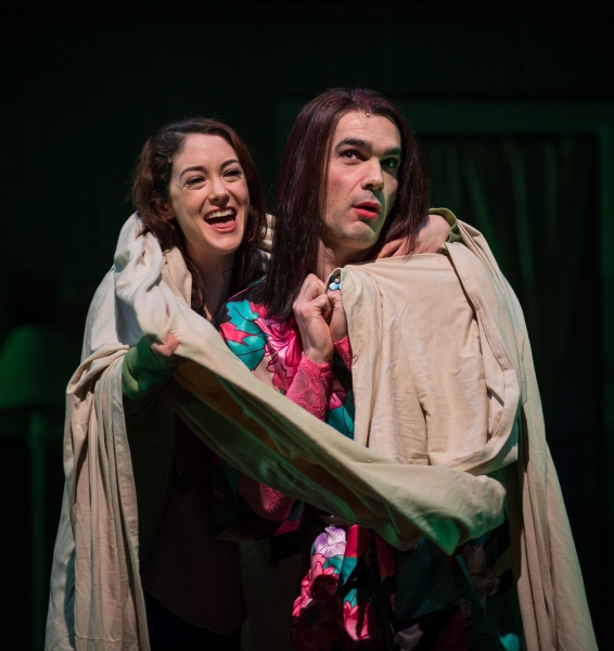 Helen Cespedes (Xiomara) and Dan Domingues (Danny/Maurico/Arturo)