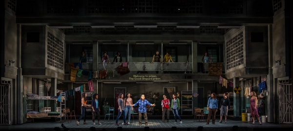 Photo Flash: First Look at Jose Rivera's ANOTHER WORD FOR BEAUTY at Goodman Theatre
