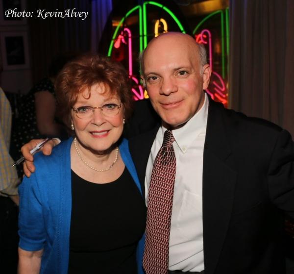 Anita Gillette and Eddie Korbich