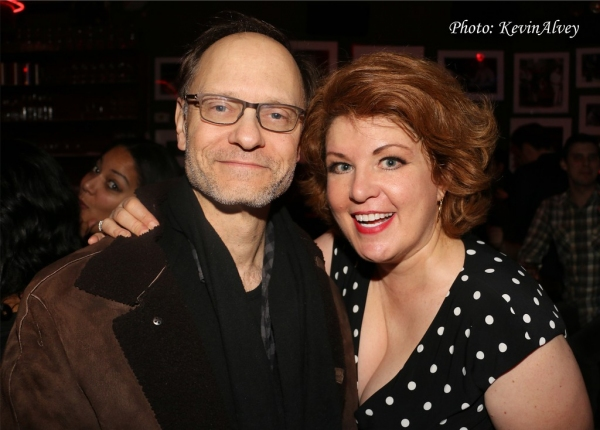 David Hyde Pierce and Klea Blackhurst