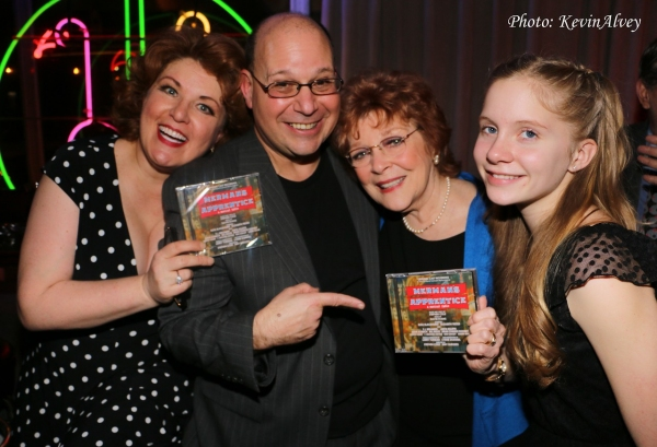 Klea Blackhurst, Stephen Cole, Anita Gillette and Elizabeth Teeter Photo