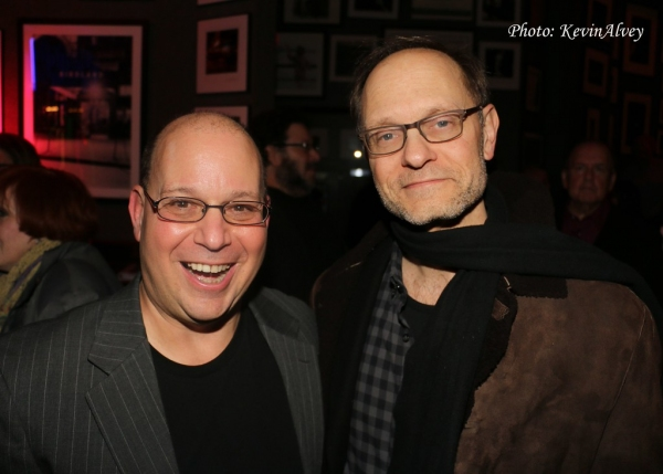 Stephen Cole and David Hyde Pierce