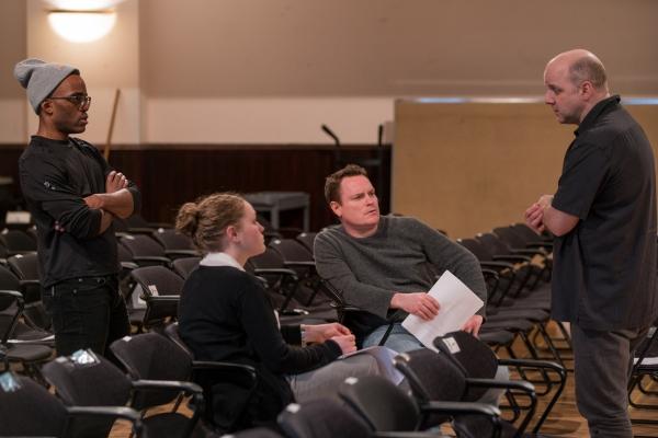 Travis Turner (Avery), Caroline Neff (Rose), Danny McCarthy (Sam) and  Dexter Bullard
