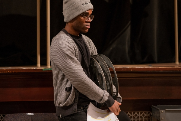 Photo Flash: In Rehearsal with Annie Baker's THE FLICK at Steppenwolf