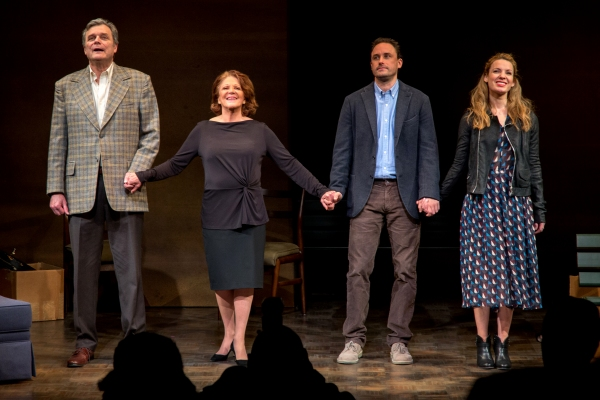 Photo Coverage: Linda Lavin & Company Take Opening Night Bows in MTC's OUR MOTHER'S BRIEF AFFAIR