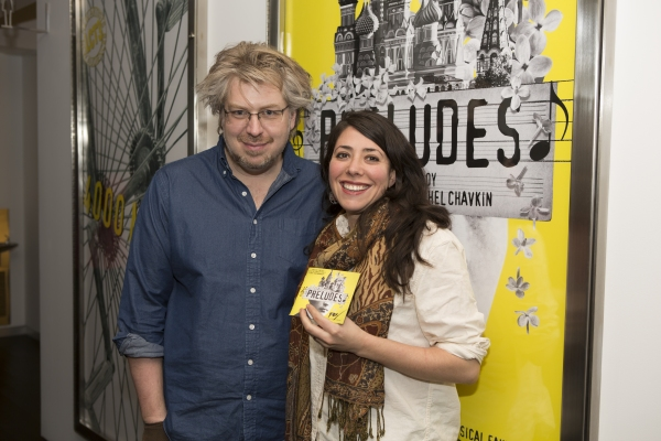 Dave Malloy and Rachel Chavkin