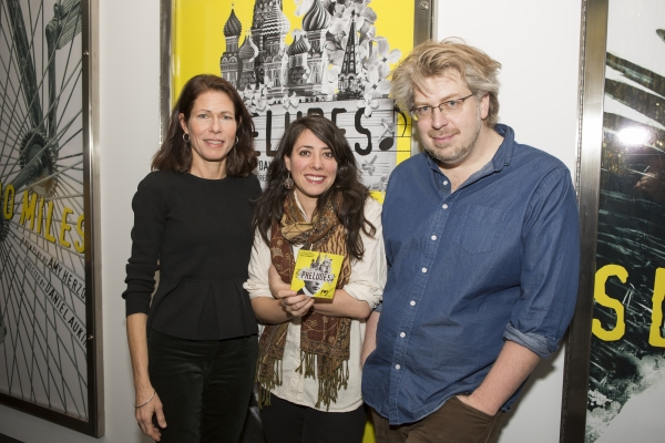 Paige Evans (Artistic  of LCT3), Rachel Chavkin and Dave Malloy