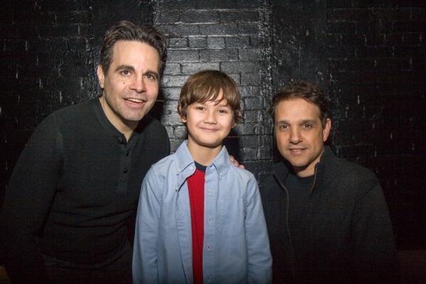 Mario Cantone, Nico Bustamante and Ralph Macchio